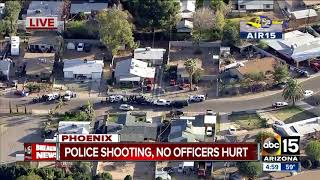 At least three shot in officer-involved shooting in west Phoenix