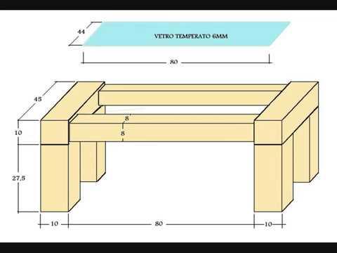 Tavolino da salotto (bricolage)