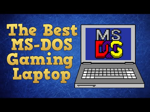 How to pick the best gaming laptop for MS-DOS games.