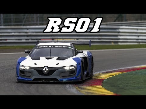 Renault RS01 racing at Spa & Zolder 2017