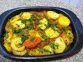 بطاطا في الفرن بدون لحم اقتصادية بنينة و سريعة هشام للطبخ. pomme boulangere