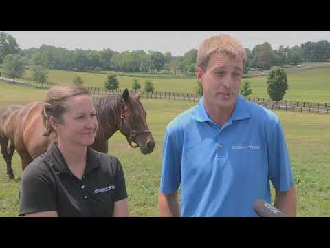 Couple comes full circle with UK through horses and pastures
