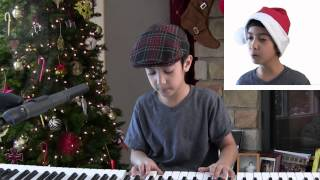 "JD, age 9, covers ""Something About December"" by Christina Perri"