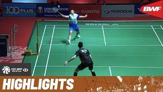 PERODUA Malaysia Masters 2020 | Quarterfinals MS Highlights | BWF 2020