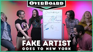 Let's Play A FAKE ARTIST GOES TO NEW YORK   Overboard, Episode 8