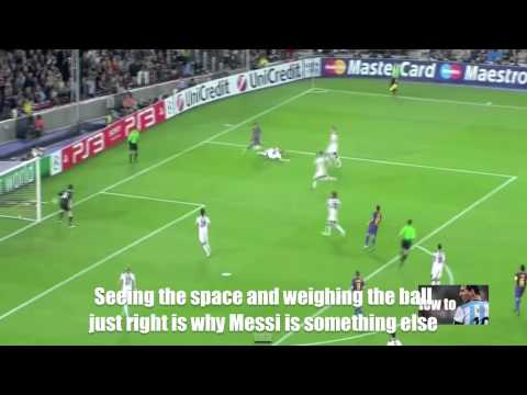 Play like Messi - Dribbling into space