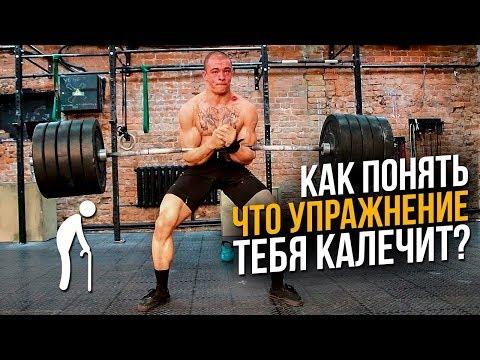 Вредные упражнения в тренажерном зале (Опасно для позвоночника и суставов)