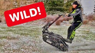 NEW PROTOTYPE 50HP Shredder!
