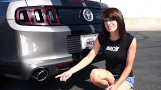Video: Borla Image Video für Sportauspuff Mustang 5 - Vergleich Touring, S-Type und ATAK