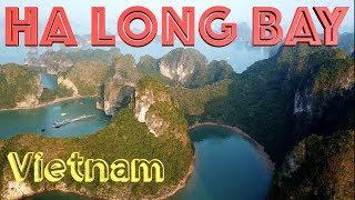 Ha Long Bay Drone Footage - Vietnam in 4K