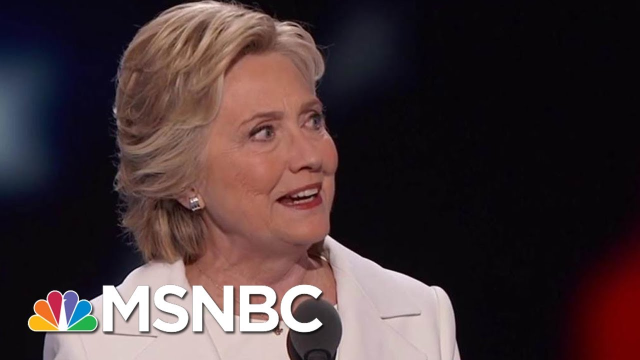 Clinton: Following Obama Made It Hard To Run As An 'Agent Of Change' | Velshi & Ruhle | MSNBC thumbnail