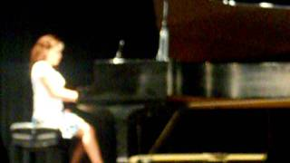 "Giselle Lopez's Piano Recital; ""The Day Is Done"""