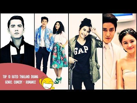 Top 10 Comedy - Romances Thailand Dramas
