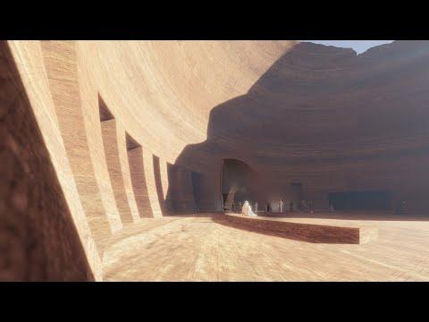 Podzemni hotel u pustinji Saudijske Arabije