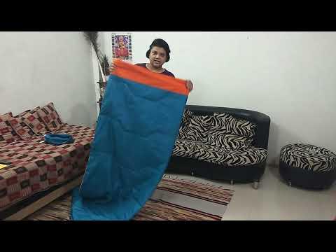 Quechua Arpenaz 15° sleeping bag review in hindi