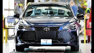 2019 Toyota Avalon production - Kentucky plant