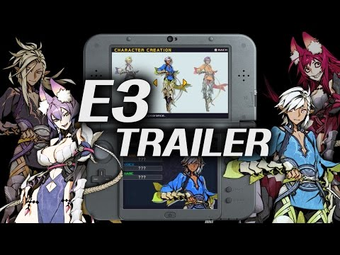 7th Dragon III Code: VFD E3 2016 Trailer thumbnail
