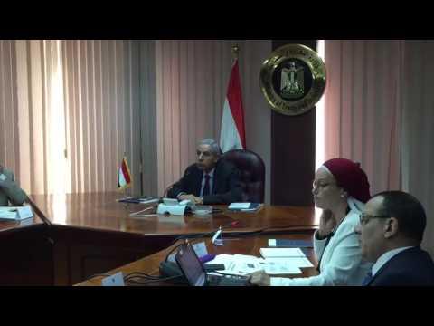 الوزير/طارق قابيل يستعرض استراتيجية تطوير قطاع نخيل التمر مع ممثلي المنظمات الدولية وشركاء التنمية