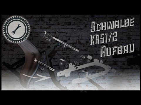 Simson Schwalbe Kr51/2 Komplettaufbau - Schritt für Schritt Anleitung