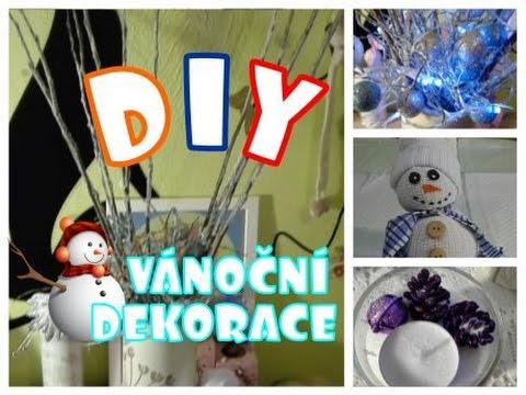 DIY - Jednoduché Vánoční dekorace |Bloum