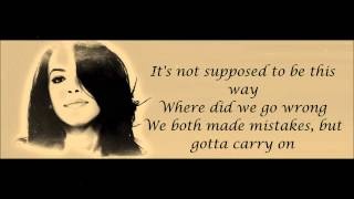 Aaliyah - I Don't Wanna Lyrics HD