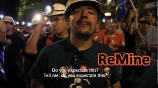 preview picture of video 'Recibimiento histórico a los mineros en Madrid (English subtitles)'