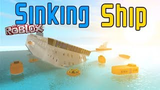ROBLOX: Sinking Ship - Going Down Like the Titanic [Xbox One Gameplay]