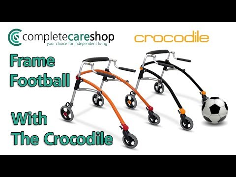 R82 Crocodile Walker - Frame Football with Toby in Basildon