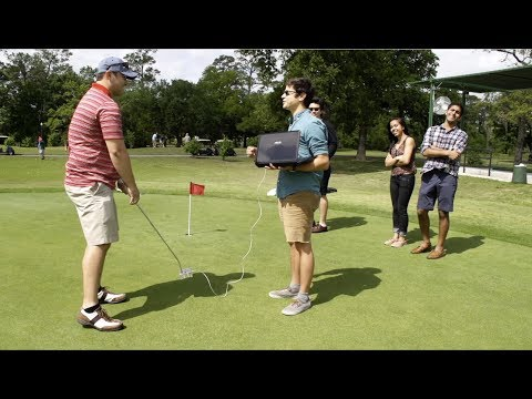 The Jedi Putter's Constant Feedback Makes You A Master Of The Green