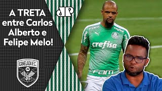 """Nós saímos na porrada"": Carlos Alberto relembra treta com Felipe Melo"