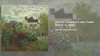 Concerto for Violin and Oboe in C minor, BWV 1060R