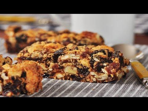 Fruit and Nut Bars Recipe Demonstration – Joyofbaking.com