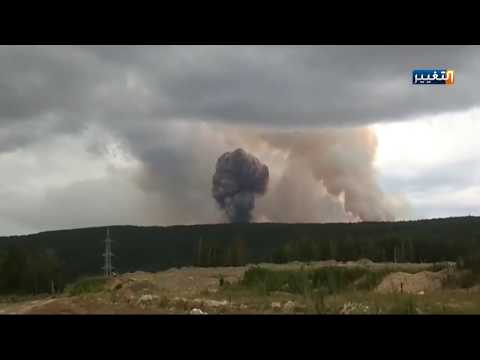 شاهد بالفيديو.. فشل الصاروخ الروسي