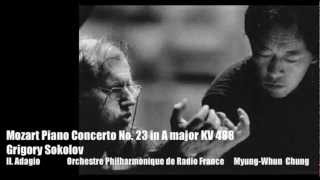Grigory Sokolov - Mozart Piano Concerto No. 23 2mvt