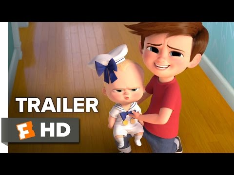 The Boss Baby Official Trailer 1 (2017) - Alec Baldwin Movie