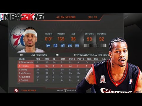 NBA 2K18 in ANDROID - TUTORIAL UNLOCKING ALL TIME LEGEND