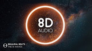 Flow State Music [8D AUDIO] Binaural Theta Waves - Improve Concentration