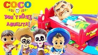 Disney COCO Don't Wake Abuelita! Game Toy Surprises Miguel, Hector, Mama Imelda, Ernesto De La Cruz