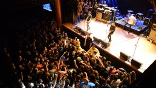 """Anti-Flag performs """"Power to the Peaceful"""" on March 23, 2013 in San Diego, CA"""