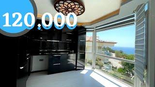 #128 Duplex Wohnung mit direktem Meerblick - 3 Zimmer mit Gartenanteil