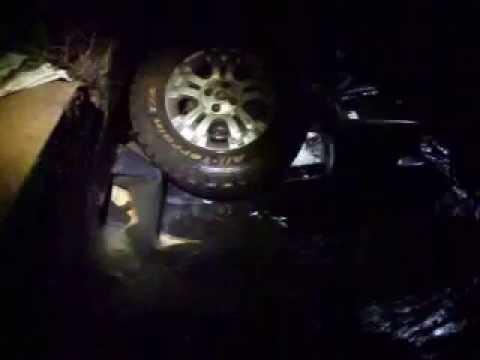 Carro cai dentro do rio e deixa uma vitima fatal na BR 429
