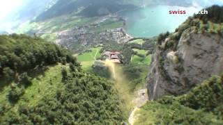Бейсджампинг в Швейцарии