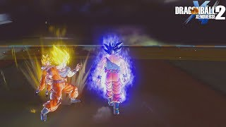 Can Ultra Instinct Goku Walk Through All Attacks (Transformation And Ultimate)? DB Xenoverse 2