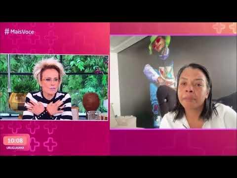 Mãe de MC Kevin se emociona em entrevista para Ana Maria Braga