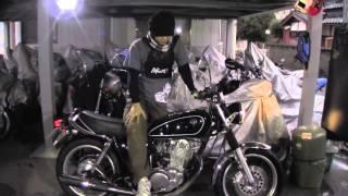YAMAHA SR400 RH01J 参考動画