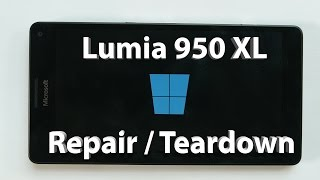 Microsoft Lumia 950 XL Screen Repair, Teardown, Mobile liquid Cooling