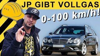 JP Performance - E500 Wir messen 0-100 | Mercedes W211 V8 5.5 LPG