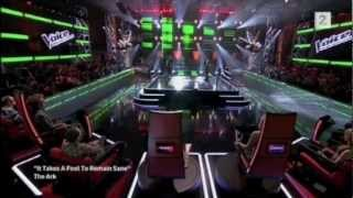 """The Voice - Martin Diesen VS Ole Alexander Mæland, """"It takes a fool to remain sane"""" - The Ark"""