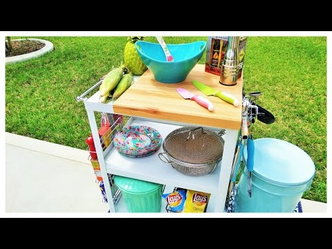Outdoor Living Space Collab: BBQ Prep Station