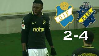 Östers IF Vs AIK 2-4 Highlights | Svenska Cupen 9/3-2019